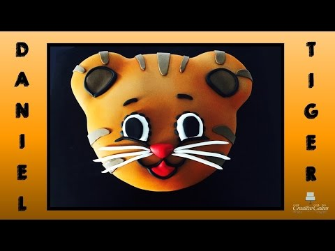 Daniel Tiger Cake - How to Make from Creative Cakes by Sharon