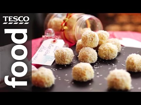 How to Make White Chocolate and Coconut Snowballs | Tesco Food