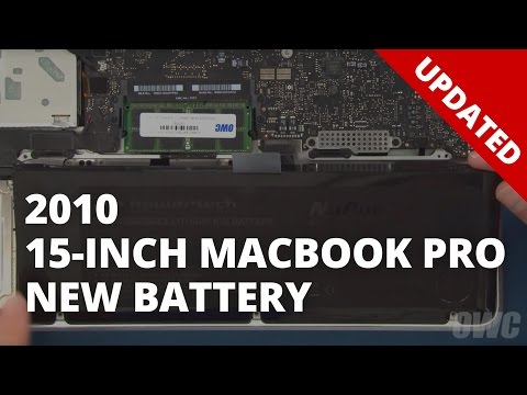 How to Upgrade/Replace the Battery in a 15-inch MacBook Pro 2010 (Updated)