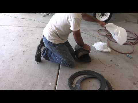 How To Put A Car Tire In A Small Trash Bag - Cut It Up!