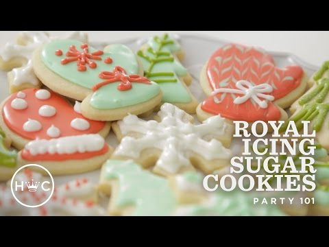 Royal Icing Sugar Cookies | Party 101