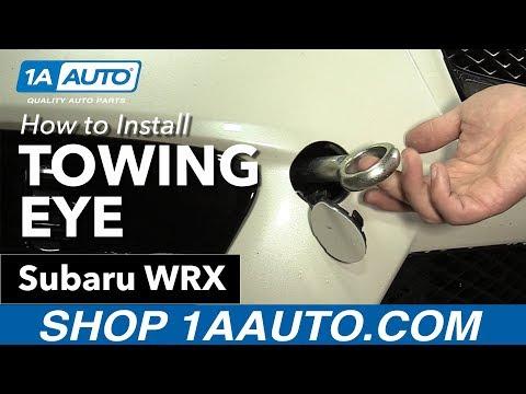 How to Install Towing Eye 11-16 Subaru WRX