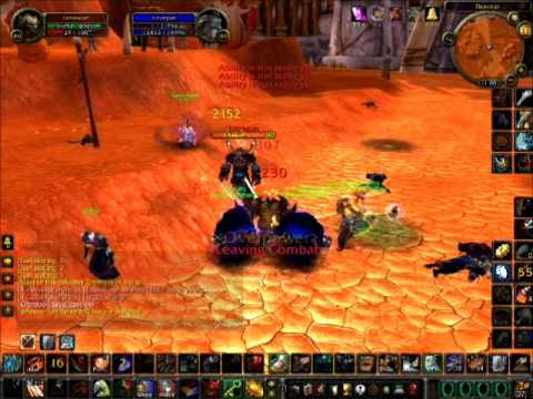 World of Warcraft Shadowmourne Warrior PvP 3.3.5