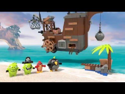 Piggy Pirate Ship - LEGO Angry Birds Movie - 75825