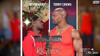 Kevin Hart & Terry Crews in Thicker & Richer: Ultimate Showdown   Laugh Out Loud Network