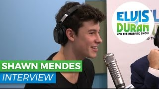Shawn Mendes Chats About Writing His New Album & Getting His First Tattoo   Elvis Duran Show