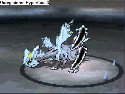 Pokemon Black 2 Catching Kyurem With One Poke Ball NO CHEATS/HACK!!!!