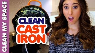 How To Clean A Cast Iron Skillet Clean My Space