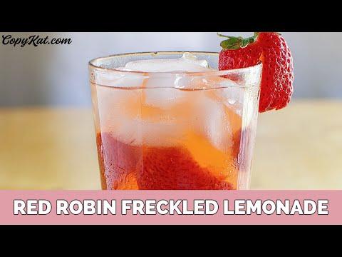 Red Robin Freckled Strawberry Lemonade