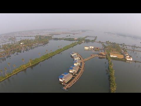 The aquatic resort