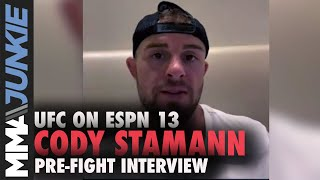Cody Stamann: Jimmie Rivera's skills haven't evolved | UFC on ESPN 13 pre-fight interview