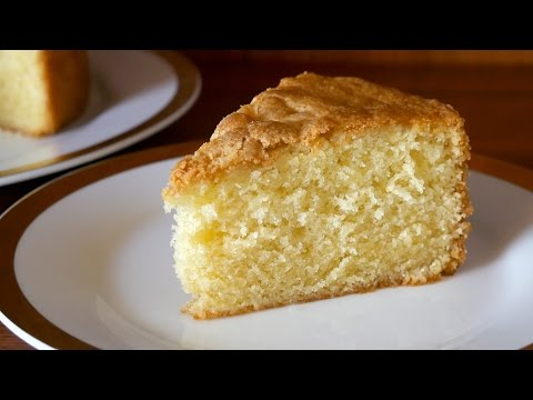 Simple Vanilla Sponge Cake Recipe (Moist, Light & Fluffy) - ASMR - Treat Factory