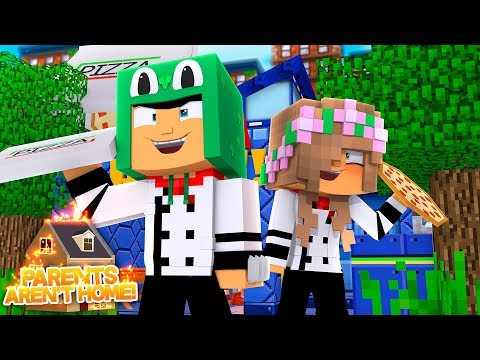 HOME ALONE MINECRAFT - THE KIDS TURN THE HOUSE INTO A RESTAURANT!