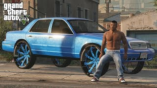 Franklin Taken Over the Streets! - GTA 5 Real Life Mod Ep.1