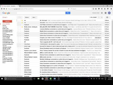 Using the Online Gmail Client with NVDA