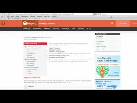 How to Setup Magento Cron Jobs in cPanel