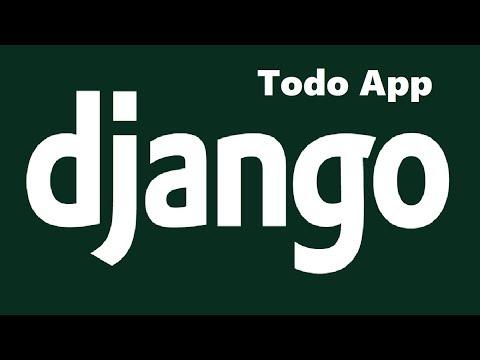 Use Django to Create a Todo List App
