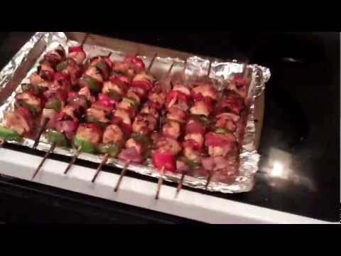 Chicken Kabobs - Ballers On Budgets - Cooking 101