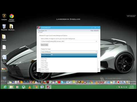 how to personalize windows 8 without activation (metro ul background,lock screen,Account picture)