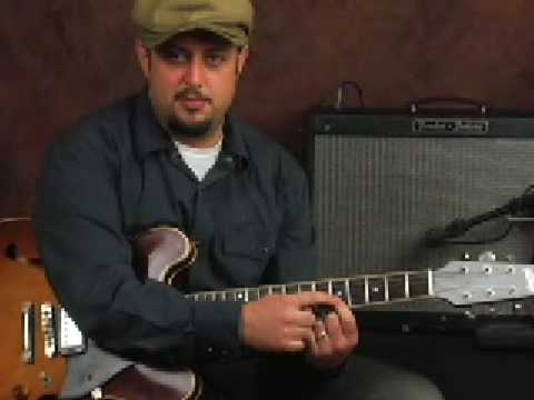 Electric guitar lesson how to improve alternate picking