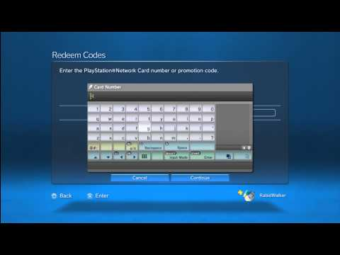 How to Redeem Voucher Codes on the PlayStation 3