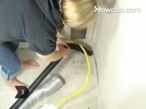 How to Clean a Clothes Dryer Exhaust Duct