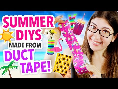 EASY SUMMER DUCT TAPE DIYS | @karenkavett