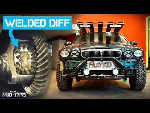 How To Weld A Diff Properly & FINISHING The Jaguar Mud-Type Build!
