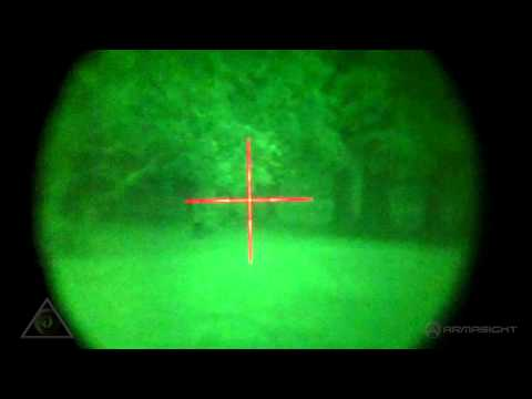 Armasight ORION 4X Night Vision Rifle Scope with IR-810 NWWORION0411I11