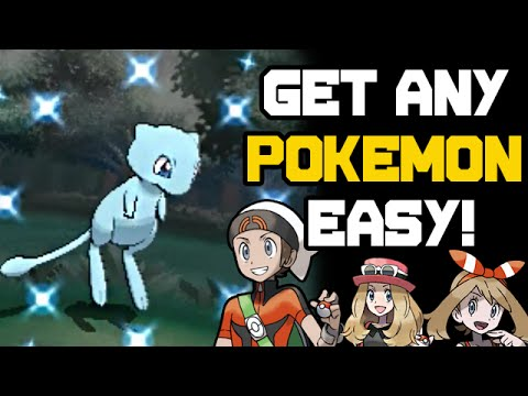 How to Get Any Pokemon Easy! Omega Ruby Alpha Sapphire Homebrew PKHex Tutorial - September 2016
