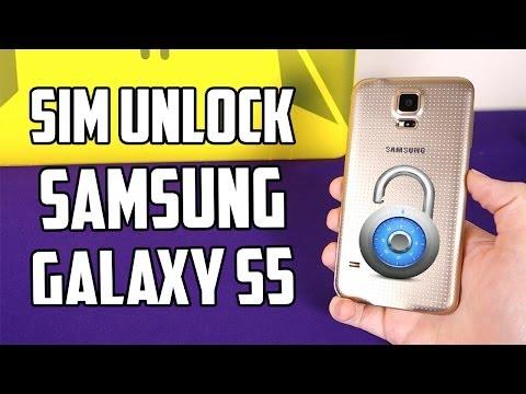 How To SIM Unlock Samsung Galaxy S5