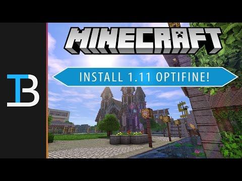 How To Download Install Optifine In Minecraft 111 Get Optifine In Min
