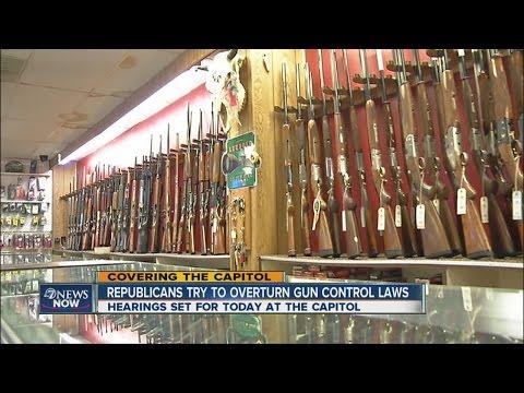 Colorado lawmakers debate gun laws