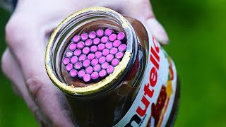EXPERIMENT Nutella Vs Petards