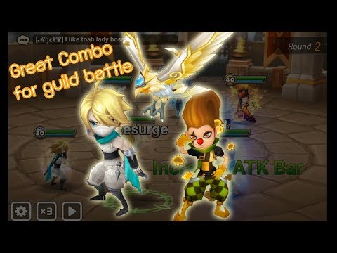 [Summoners War Addicted] - EP176 New Combo in Guild Battle (Gin, Teon, Lushen)