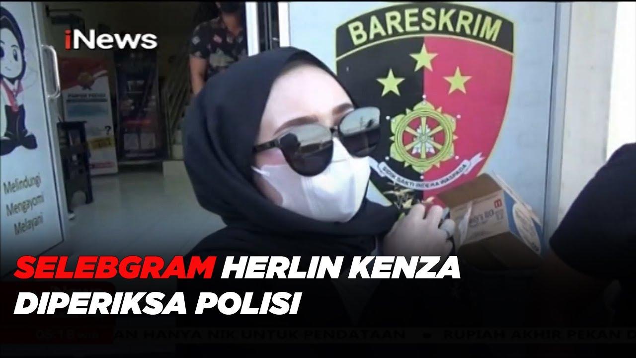 Selebgram Herlin Kenza Diperiksa Polisi Terkait Kerumunan di Aceh #iNewsPagi 24/07