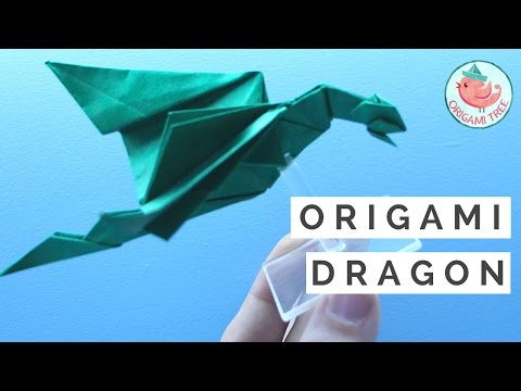 How to Make an Easy Origami Dragon | Origami Razorback Dragon ft. Paul Frasco, Fantastical Creatures
