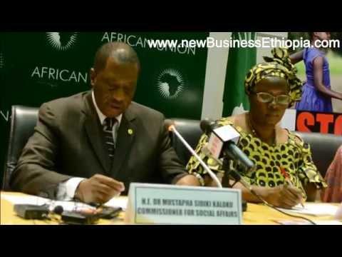 African Union Campaign to End Child Marriage launched May 29, 2014 in Addis Ababa, Ethiopia
