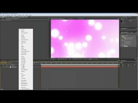 After Effects Tutorial - Looping Particle Animation