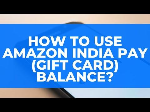 Redeem Amazon India Pay (Gift Card) Balance: Pay Balance ko Kaise Istemaal Kare?