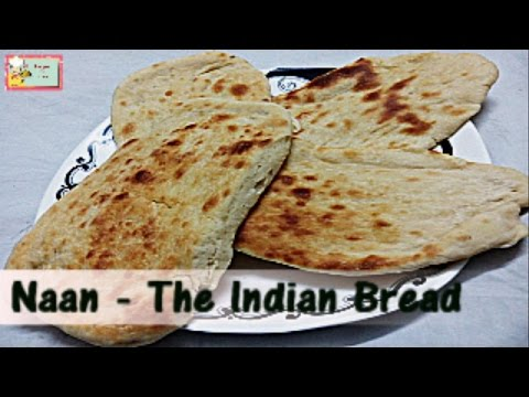Garlic Naan- The Indian Bread in Microwave