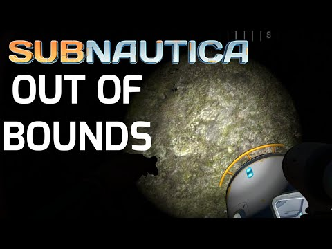 Subnautica H20 Update Out Of Bounds Glitch