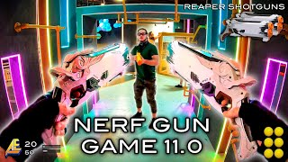 NERF GUN GAME 11.0 (Nerf First Person Shooter!)