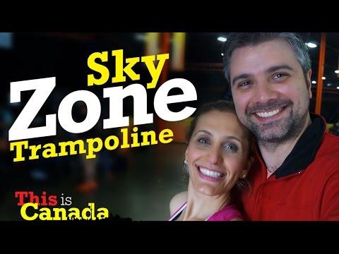 This is Canada - Sky Zone Trampoline