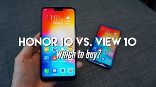 Honor 10 Vs. Honor View 10 • THE FIGHT IS ON!!