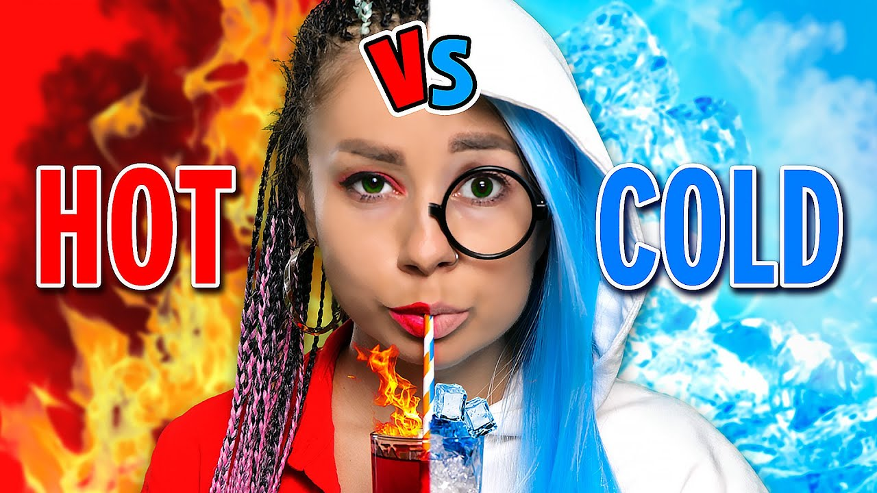 Hot vs Cold Challenge || Girl on Fire vs Icy Girl relatable musical by La La Life (Music Video)