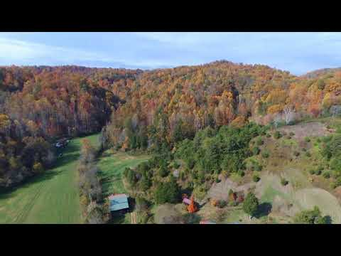 Fall Colors In The Smokey Mountains - Bebop 2 Drone Aerial Video !!