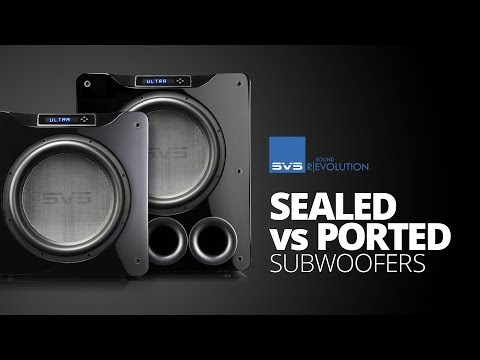 Comparing Sealed vs. Ported Subwoofers for Home Theater