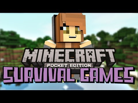 Minecraft Pocket Edition | Survival Games! Ep. 1