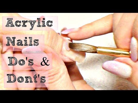 💅 DIY Acrylic Nails Tutorial Do's & Don'ts 💅